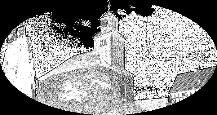 Simmershausen-Kirche-Bleistift2