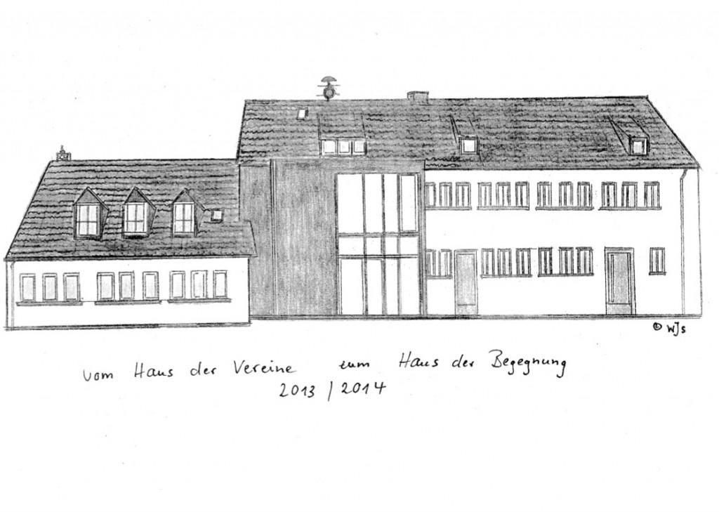 Haus der Begegnung (Grundsanierung 2013/14) - Schulhofseite