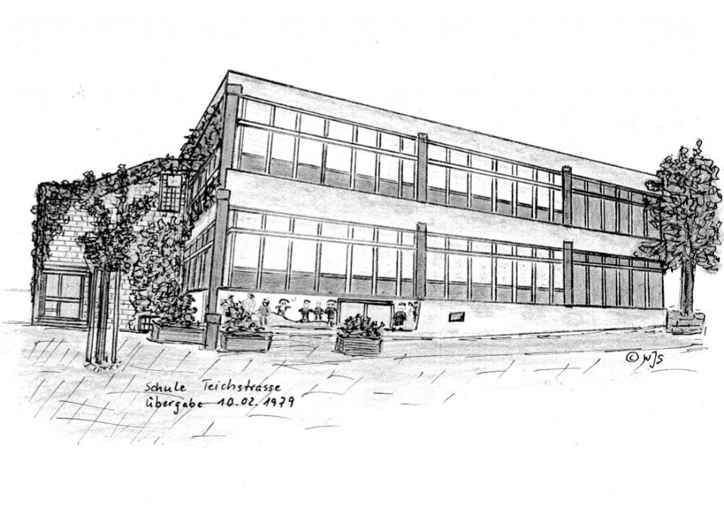 Schule (erbaut 1978/79) in der Teichstrasse