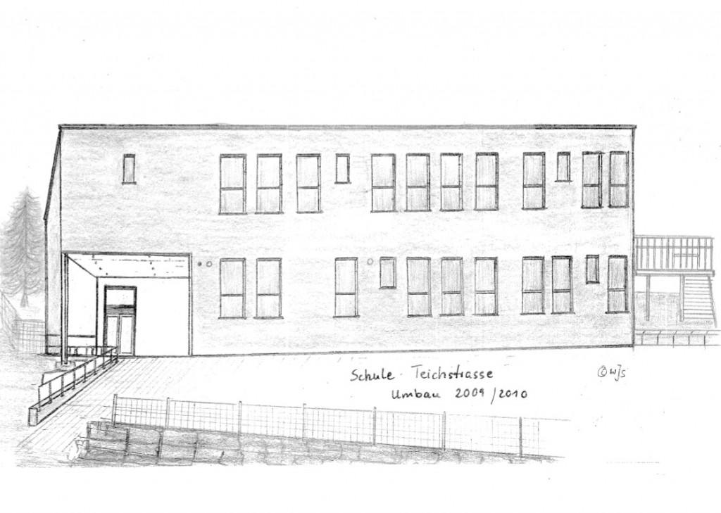 Schule (Renovierung 2009/10) in der Teichstrasse